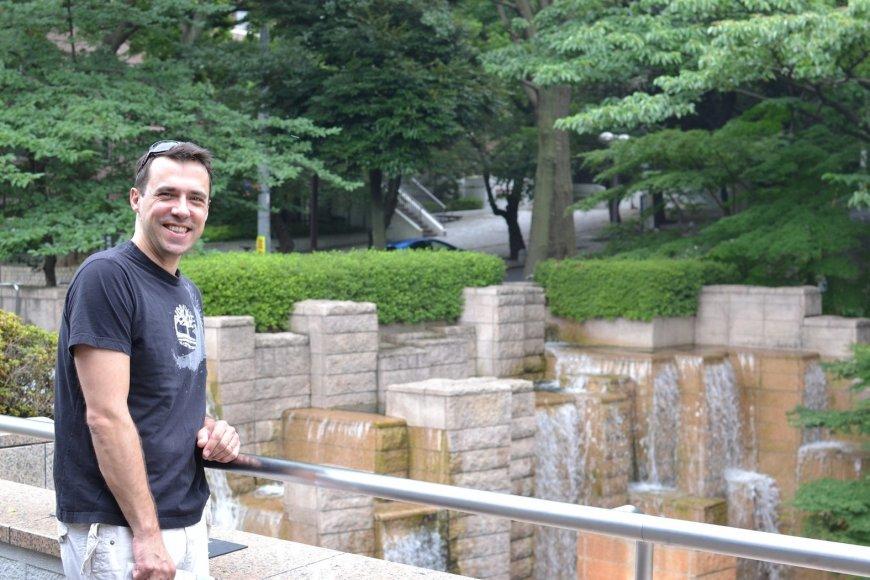 Tomas Ališauskas Tokijuje