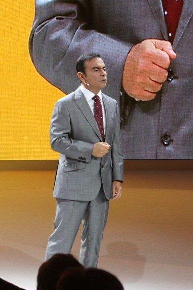 """Carlosas Ghosnas, """"Renault-Nissan"""" aljanso vadovas"""