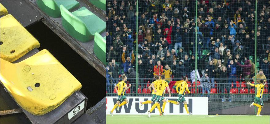 LFF stadione antradienį vos pavyko išvengti tragedijos