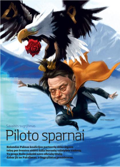 Piloto sparnai