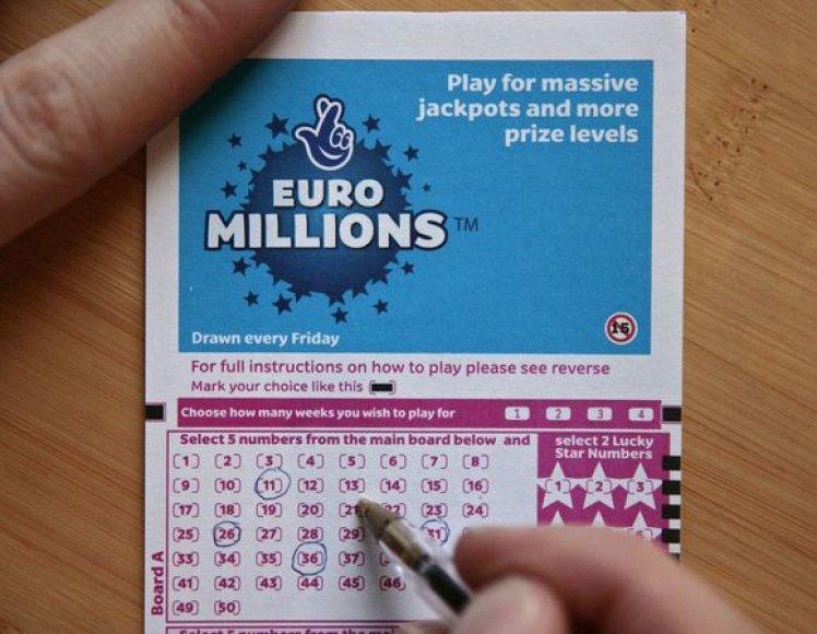 """""""EuroMillions"""" loterija"""
