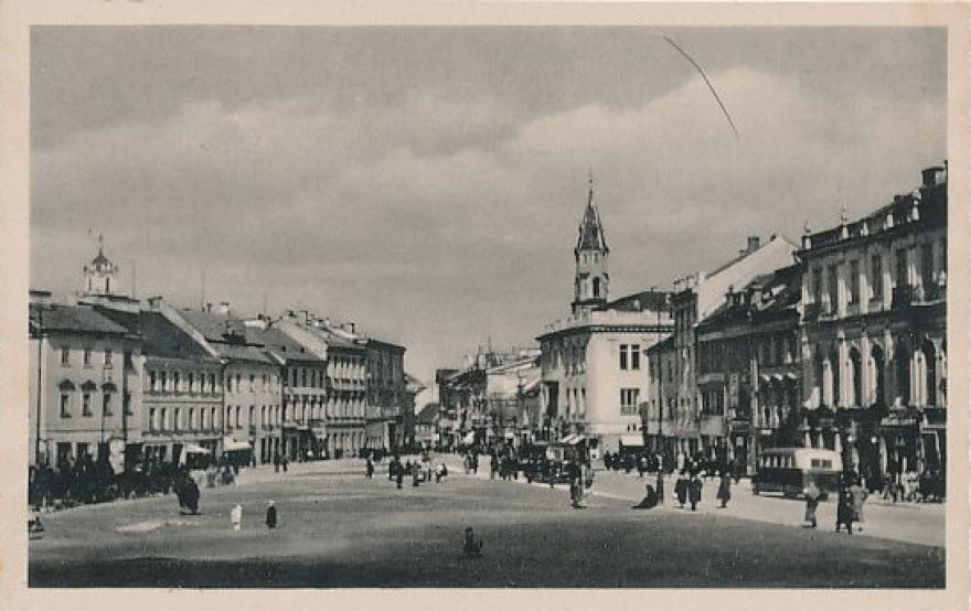 J.Bulhakas. A.Stulginskio gatvė 1940 m.