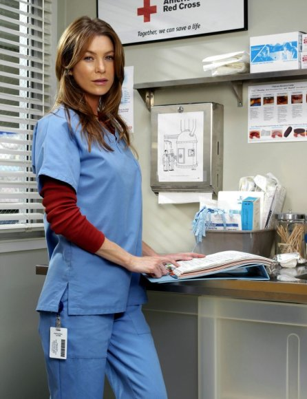 "Ellen Pompeo seriale ""Grei anatomija"""
