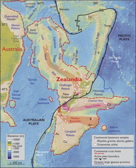 Zelandijos žemynas
