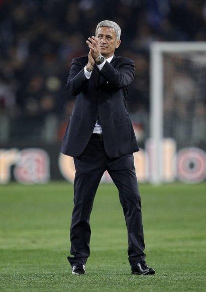 """Lazio"" treneris Vladimiras Petkovičius"