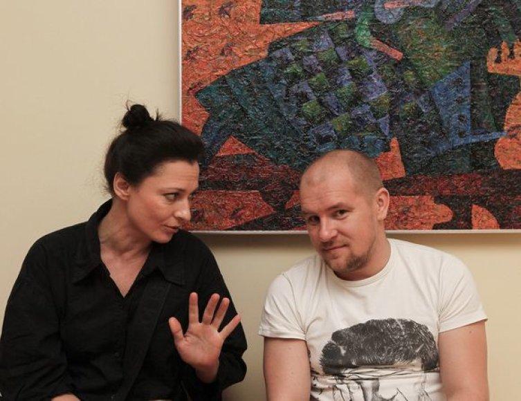 Rimantė Valiukaitė ir Ramūnas Cicėnas