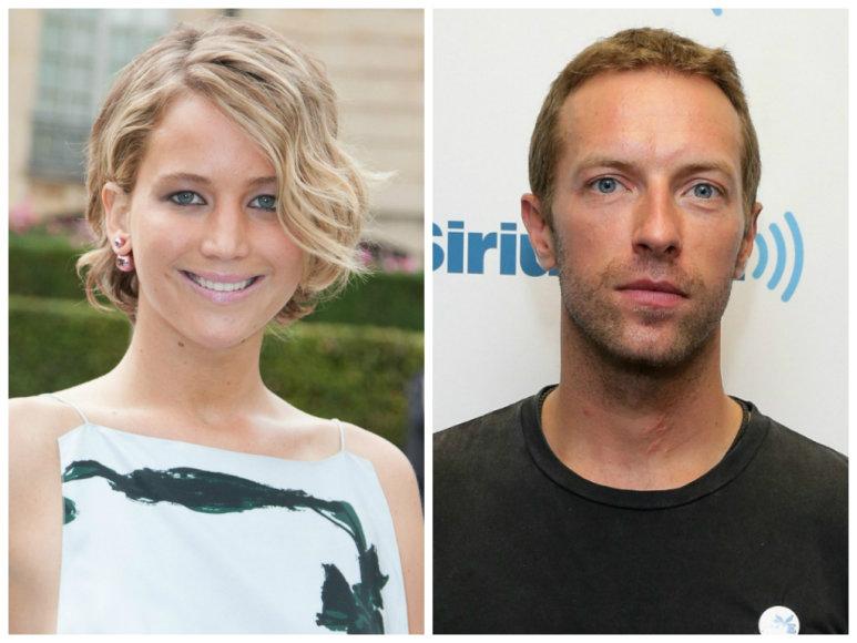 Jennifer Lawrence ir Chrisas Martinas