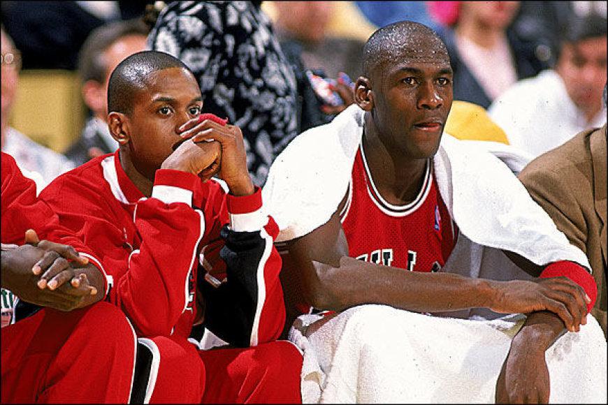 B.J.Armstrongas ir Michaelas Jordanas