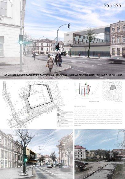 """Bendrovės """"Architektūros linija"""" projektas"""