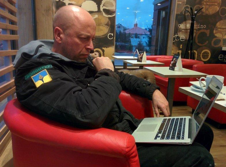 Jonas Ohmanas Lenkijos-Ukrainos pasienyje
