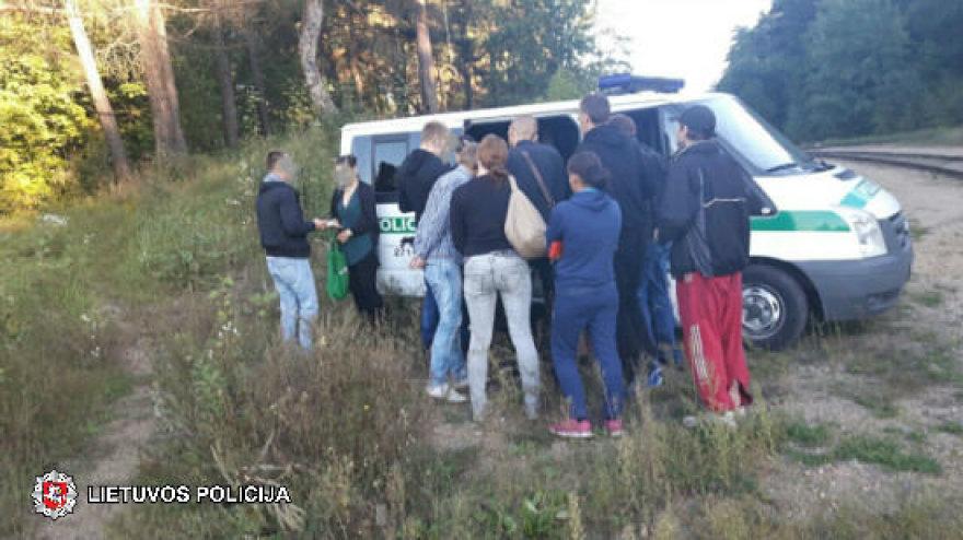 Vilniaus pareigūnai sulaikė narkomanus