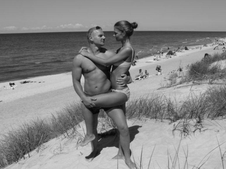 Bikini porelė: Indrė ir Ernestas Kavaliauskai (konkurso archyvas)