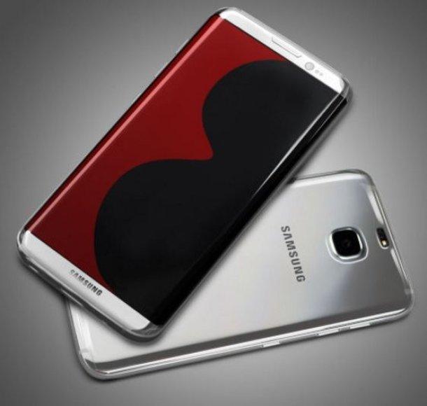 """Taip galimai atrodys naujasis """"Samsung Galaxy S8"""""""