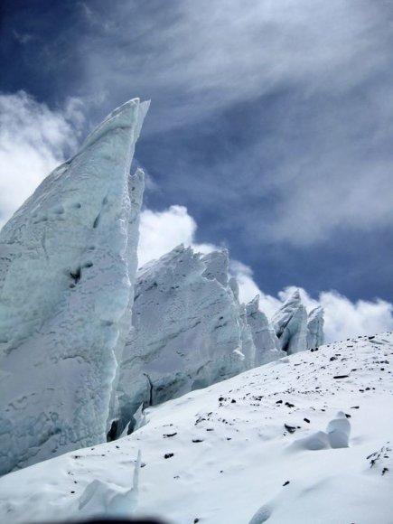 12. Ledyno formacijos pakeliui į ABC