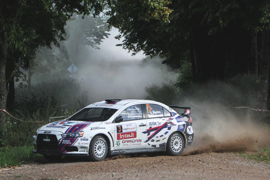 """""""Autoplius 300 lakes rally"""" penktadienis"""