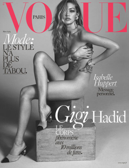 """Vogue"" nuotr./Gigi Hadid"