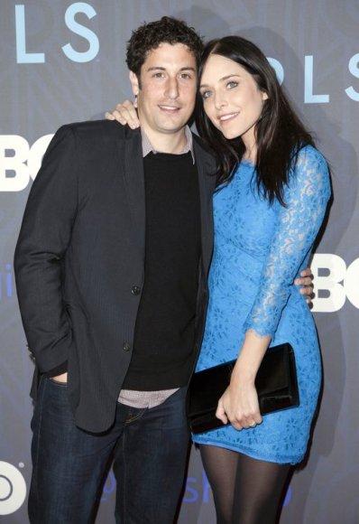 Jasonas Biggsas su žmona Jenny Mollen
