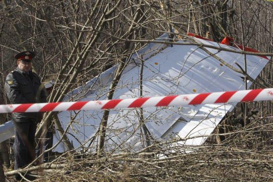 Tragedijos vieta prie Smolensko