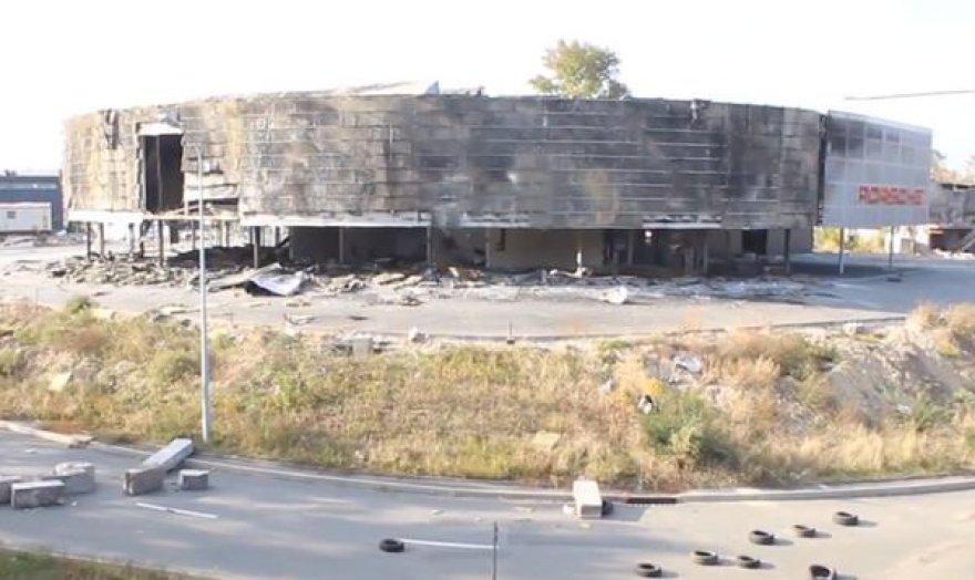 Porsche salonas netoli Donecko oro uosto