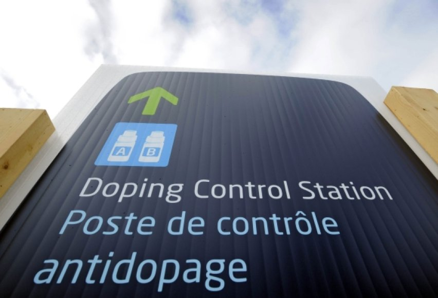 Dopingo kontrolės punktas