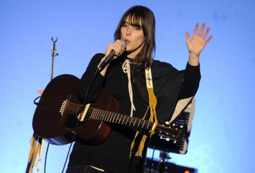 Kanados dainininkė Feist.
