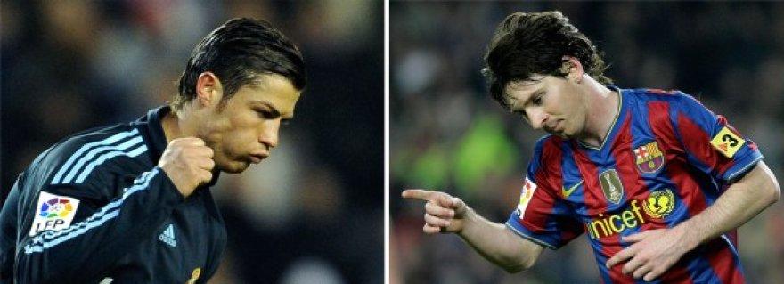 C.Ronaldo (kairėje) gyrė L.Messi