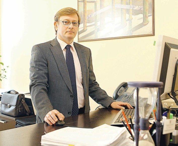 VMI viršininkas M.Kaseliauskas