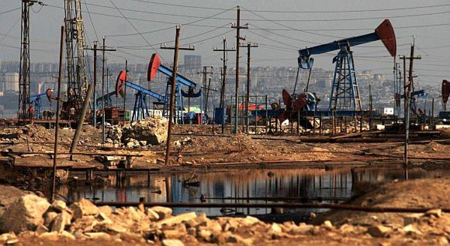 Azerbaidžano naftos gręžiniai