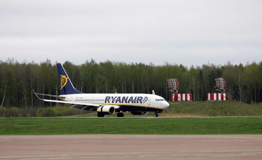 """Atidarius """"Ryanair"""" bazę Kaune čia nuolat bus laikomi du bendrovės lėktuvai"""
