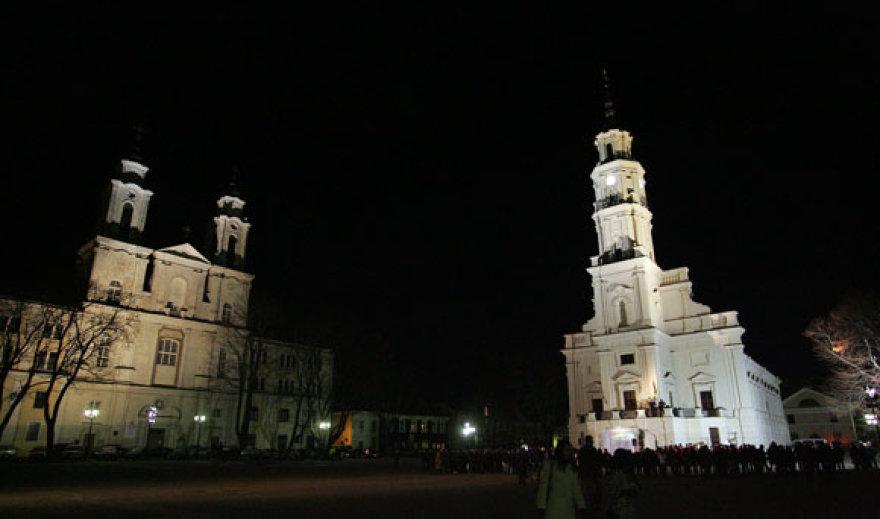 Žemės valandos minėjimas Kaune vyko Rotušės aikštėje