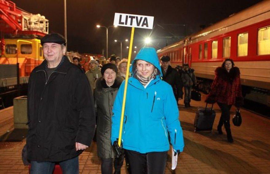 Atostogauti atvykstantys rusų turistai.