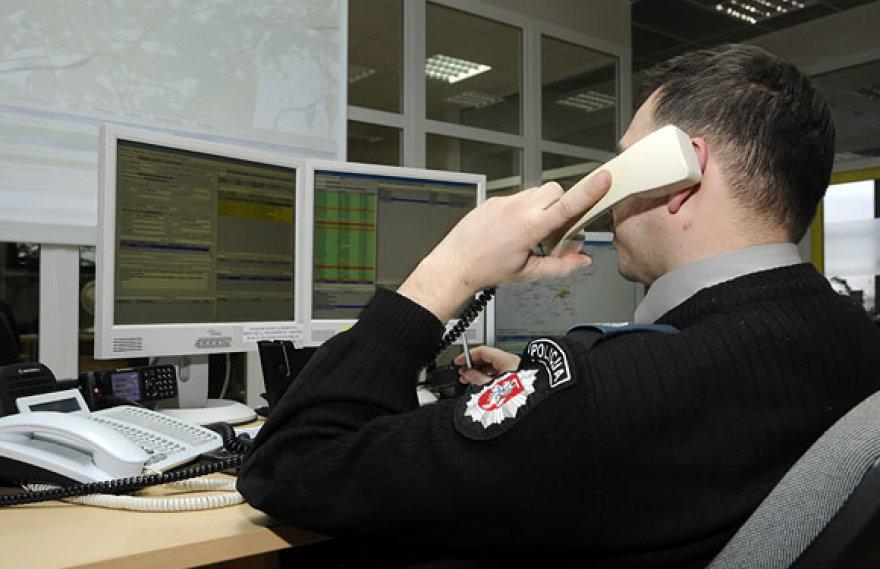 Šiuolaikinės policijos pajėgų valdymo sistemos pristatymas.