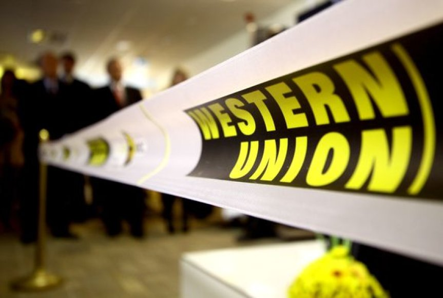 """Western Union"" atidarymo akimirka"