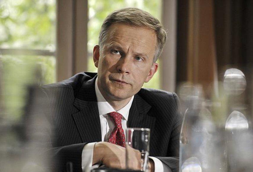 Latvijos centrinio banko vadovas Ilmaras Rimševičius