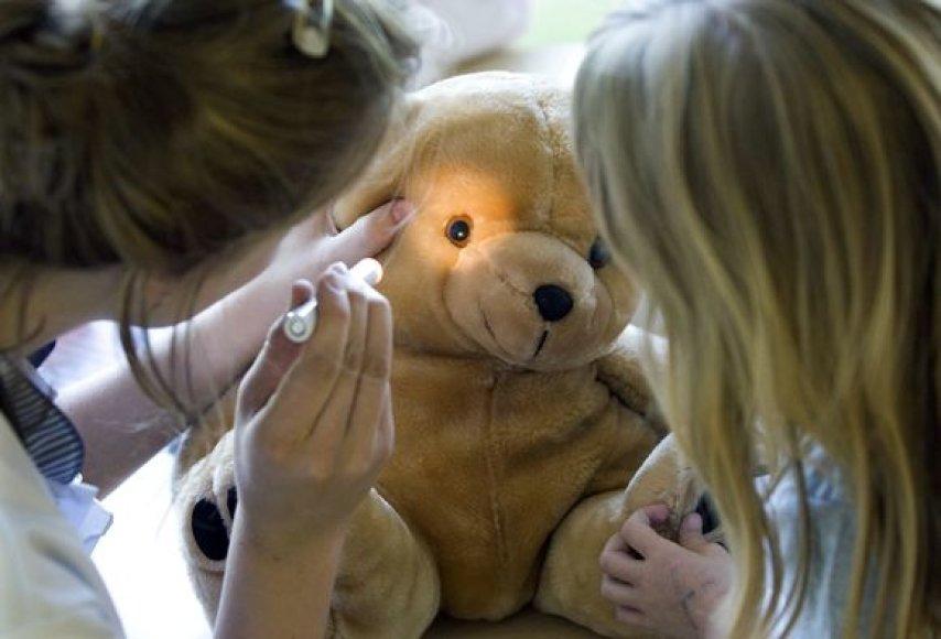 """""""Meškiukų ligoninė"""" – visuomenės sveikatos projektas, pasiteisinęs įvariose pasaulio šalyse."""