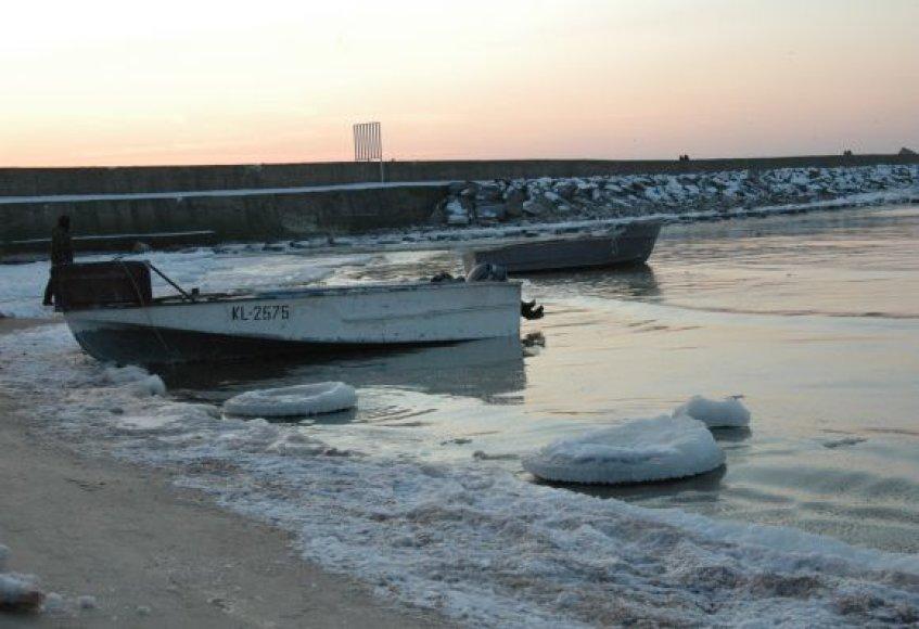 Žiema Baltijos pajūryje: Melnragė