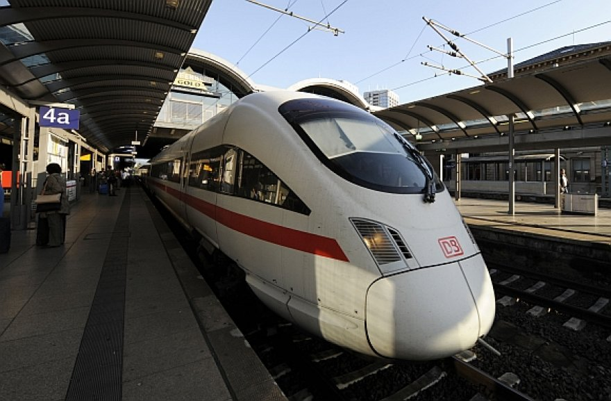 Traukinys Vokietijoje