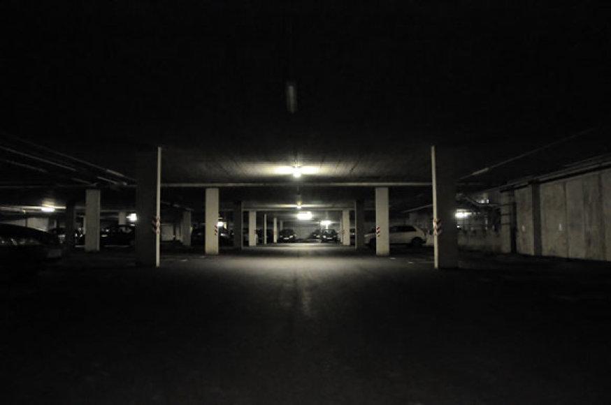 Požeminis garažas