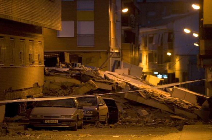 Žemės drebėjimas Ispanijoje
