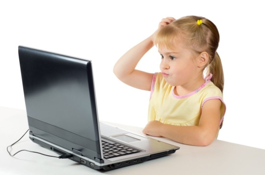 """Vaikams iki 13 metų draudžiama turėti """"Gmail"""" sąskaitą."""