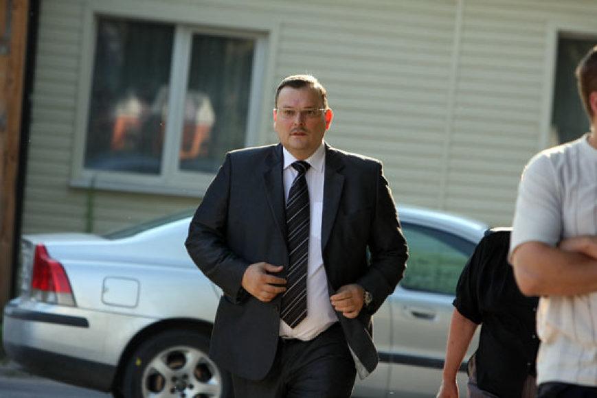 Darbo partijos atstovas Kęstutis Daukšys