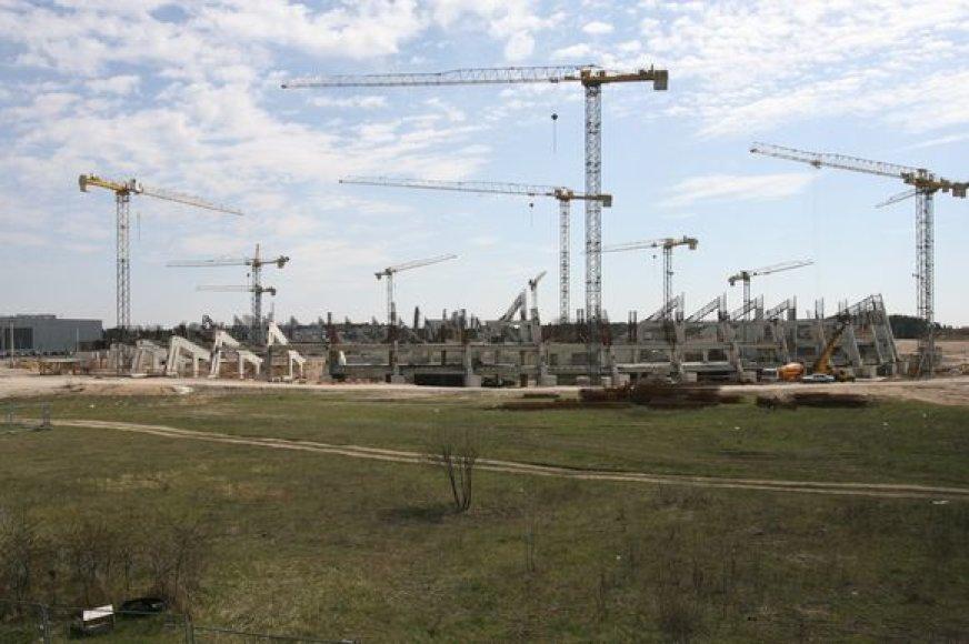 Nacionalinio stadiono statybų eiga priklausys nuo Finansų ministerijos.