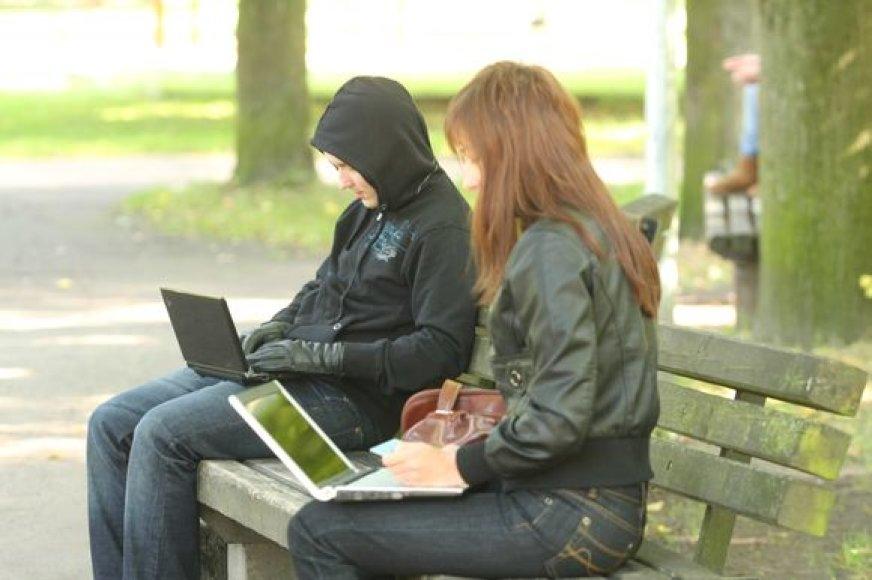 Laisvės alėjoje – nemokamas bevielis interneto ryšys.