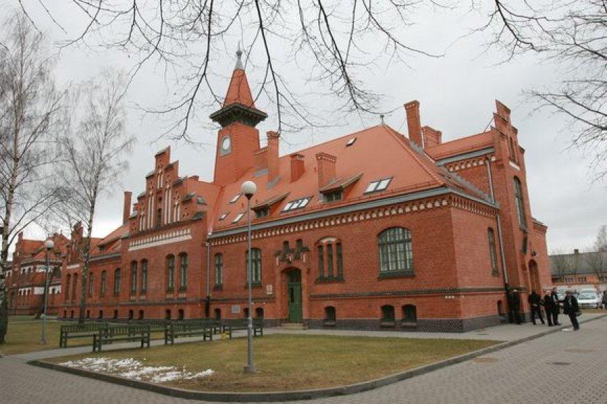 Studentų aula buvo restauruojama daugiau nei ketverius metus.