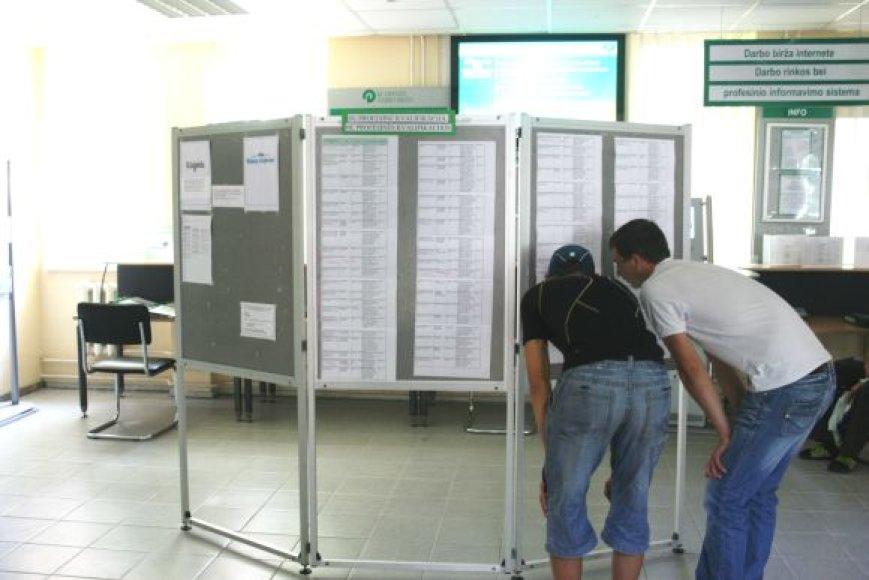 Klaipėdos darbo biržoje per pirmas dvi rudens savaites įregistruota dar tūkstantis bedarbių.