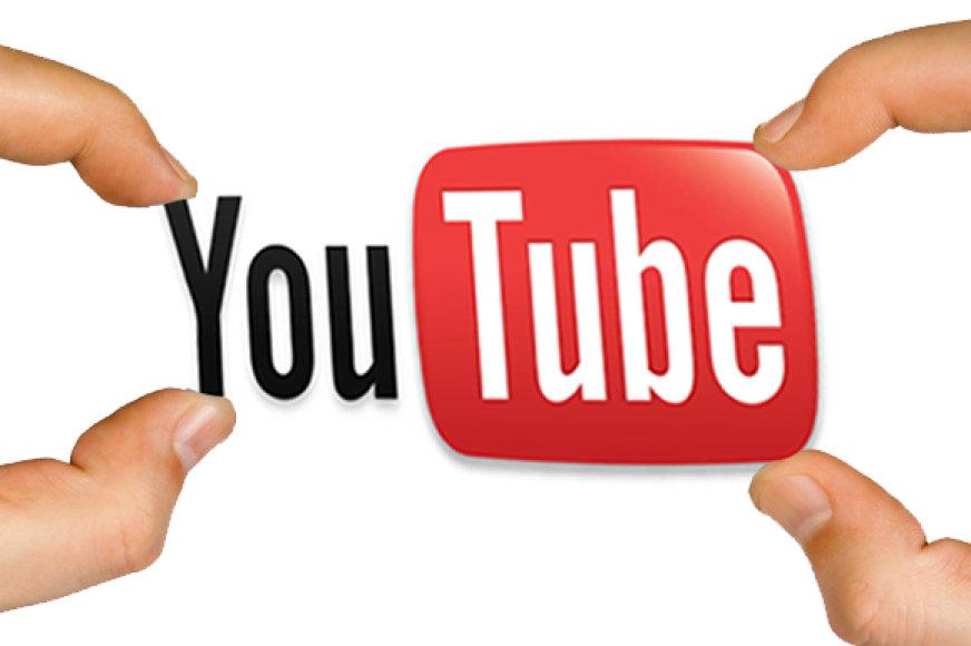"""Kompanijos """"Youtube"""" logotipas"""