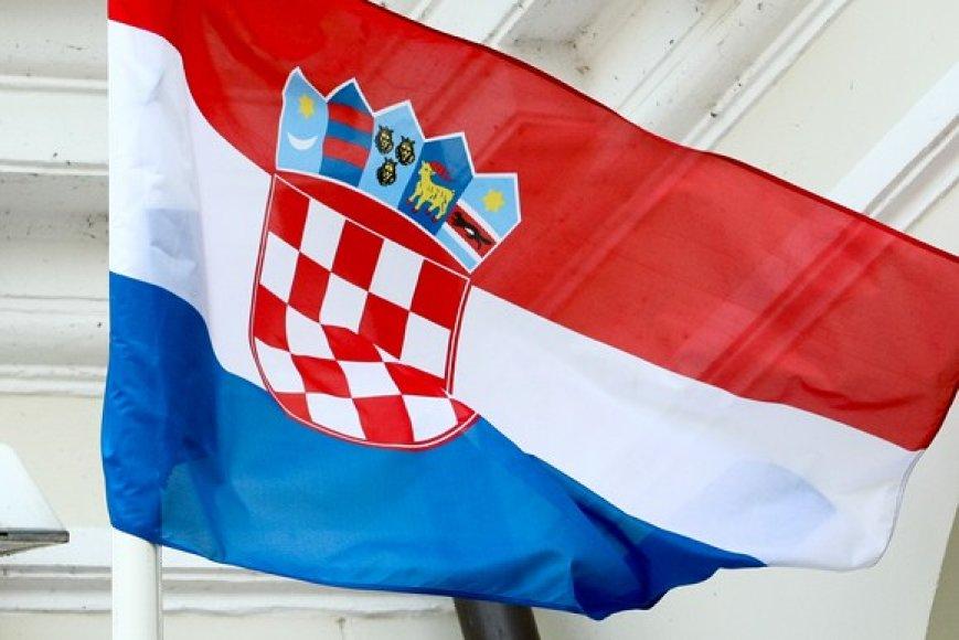Kroatijos valstybės vėliava
