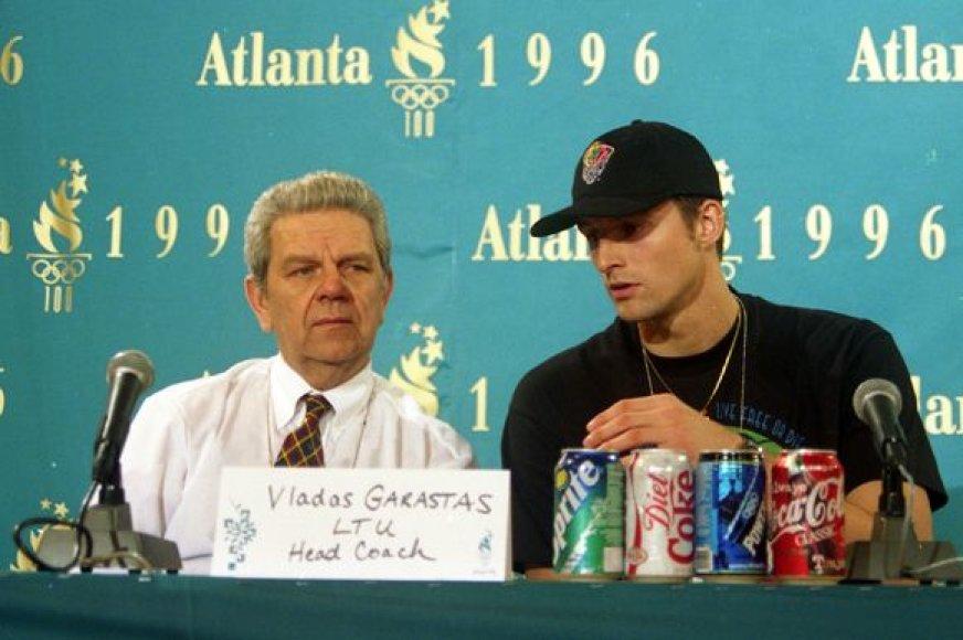 Vladas Garastas (1996 metai)