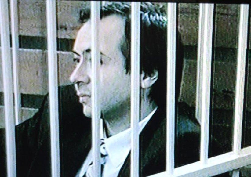 Už žurnalisto užsakomąją žmogžudystę mirties bausme nuteistas B.Dekanidzė.