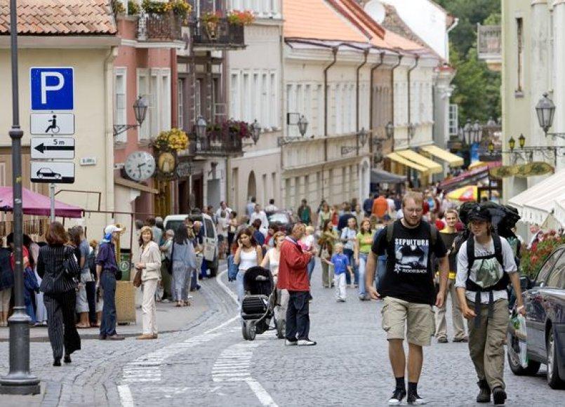 Vilniaus turistai
